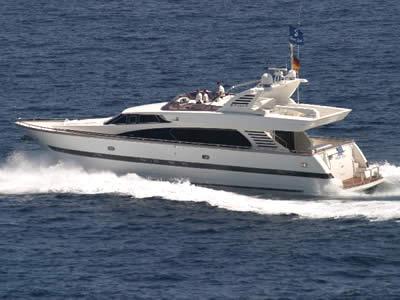 Elegance 76 Flybridge Motor Yacht Charter in Mallorca