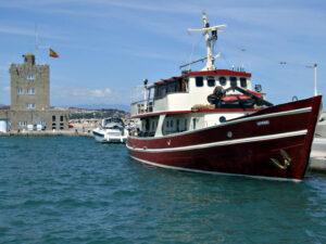 Sir Anthony - Classic Motor Boat Charter - Puerto Banus & Marbella