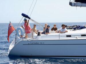 Beneteau Cyclades Yacht Charter Gibraltar