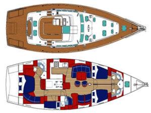 Beneteau 57 Sailing Charters