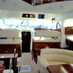 Jeanneau Prestige 46 Flybridge Motor Yacht Charter in Sotogrande