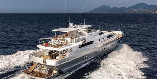 M/Y Antisan Motor Yacht Charter in Cannes & Monaco