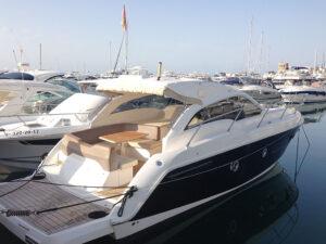 Sessa C35 Motor boat charter Puerto Banus
