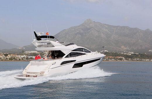 Sunseeker 68 Sport Yacht Charter from Puerto Banus