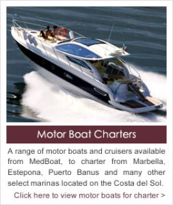 Motor Boat Charters on the Costa del Sol