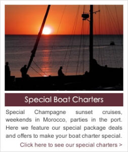Special Boat Charter Packages Available in Southern Spain