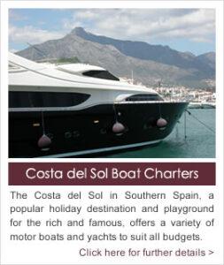 Costa del Sol Boat Charters