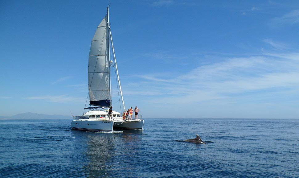 Lagoon 380 Estepona Catamaran charters