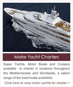 Worldwide Motor Boat and Yacht Charter